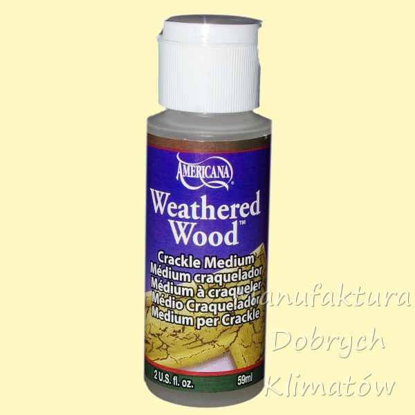 DecoArt Weathered Wood- medium do spękań (722) 236 ml