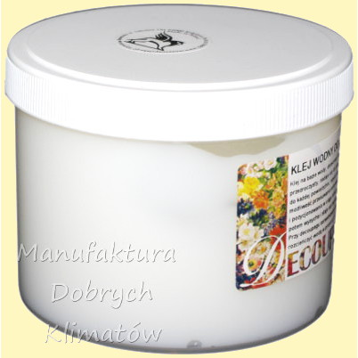 Klej wodny do decoupage marki Renesans 500 ml