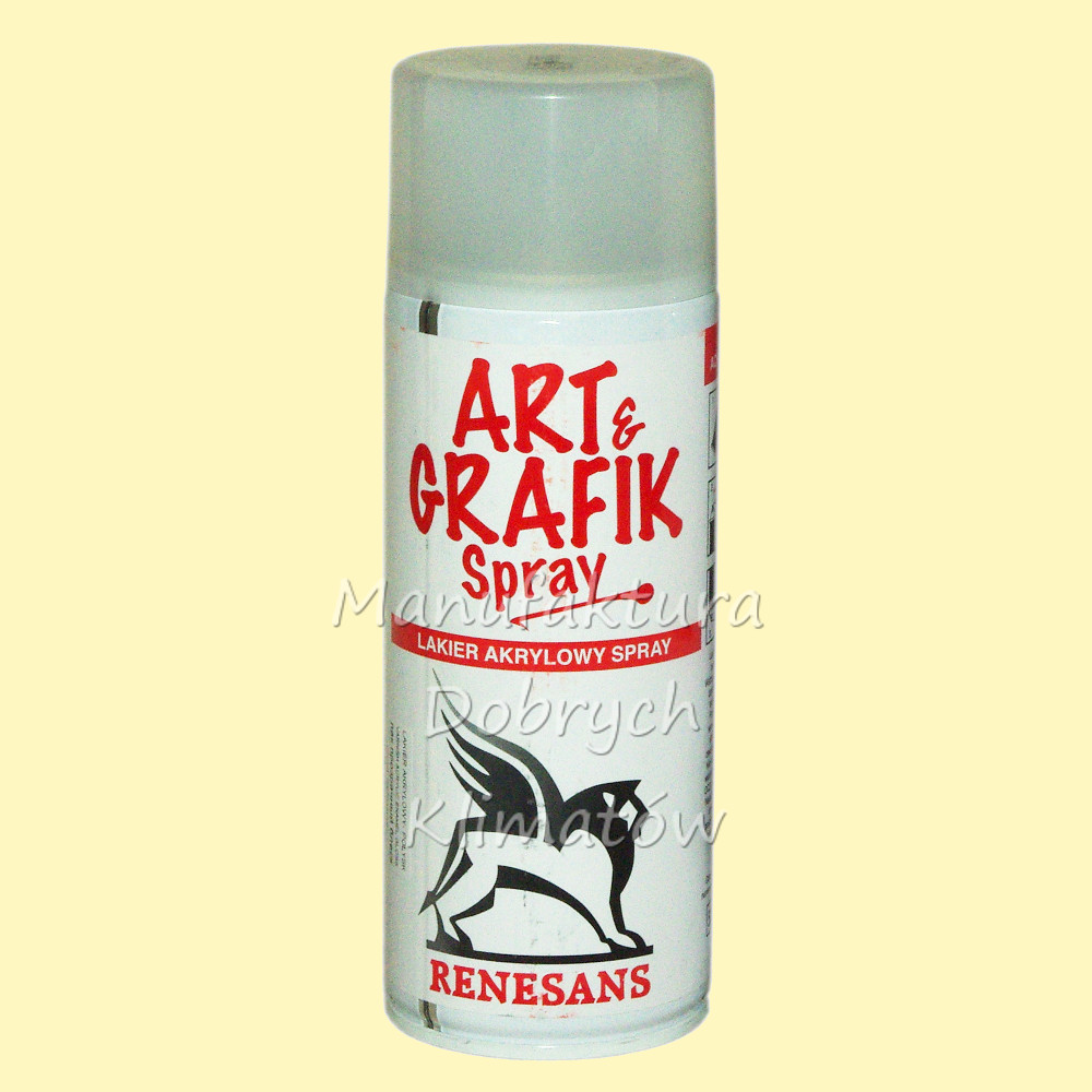 RENESANS ART&GRAFIK Spray 400ml - werniks akrylowy połysk 400 ml