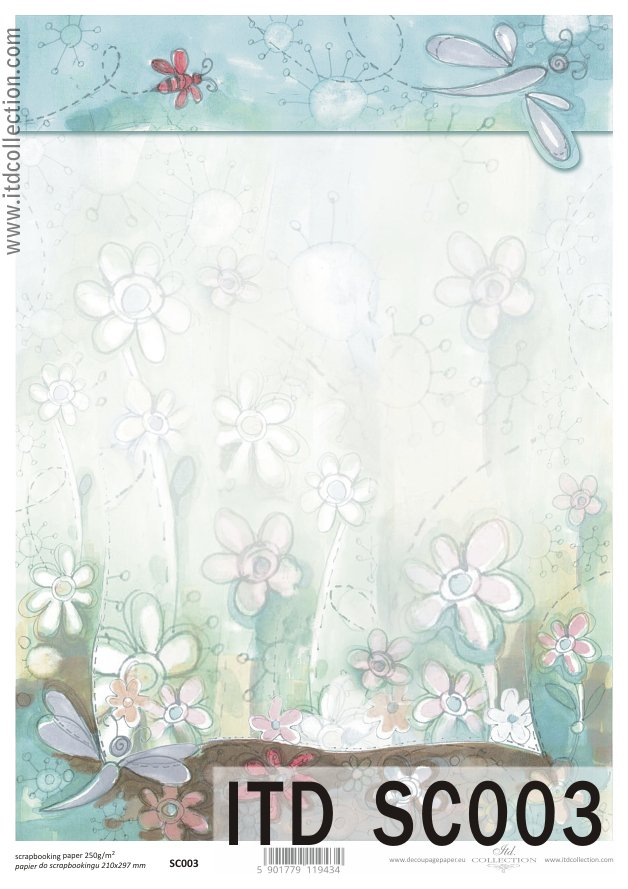 ITD - Papier do scrapbookingu SC003