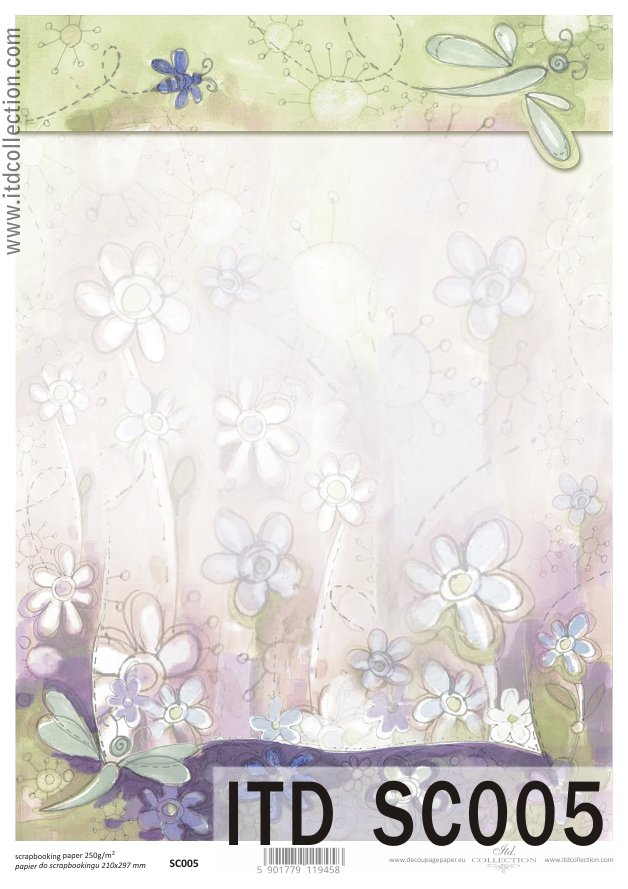 ITD - Papier do scrapbookingu SC005