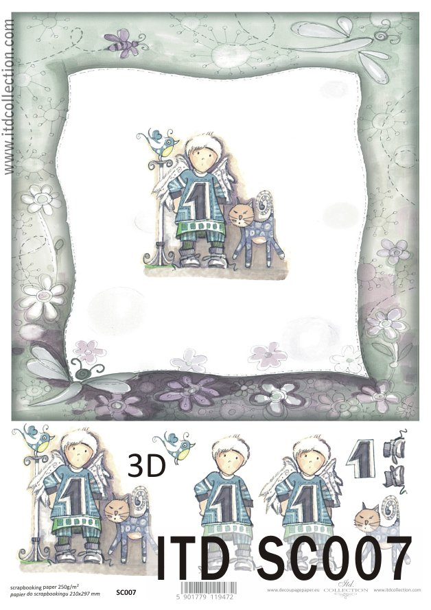 ITD - Papier do scrapbookingu SC007