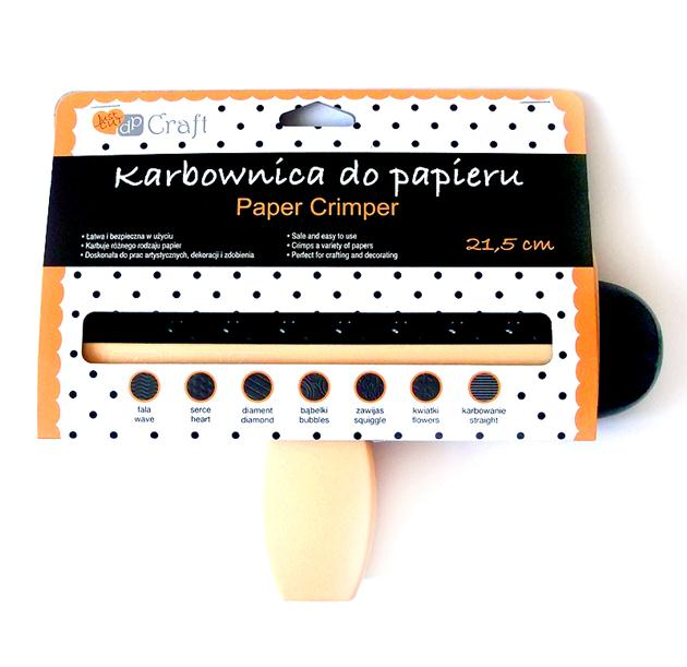 KARBOWNICA DO PAPIERU 21,5 CM DIAMENT (002)