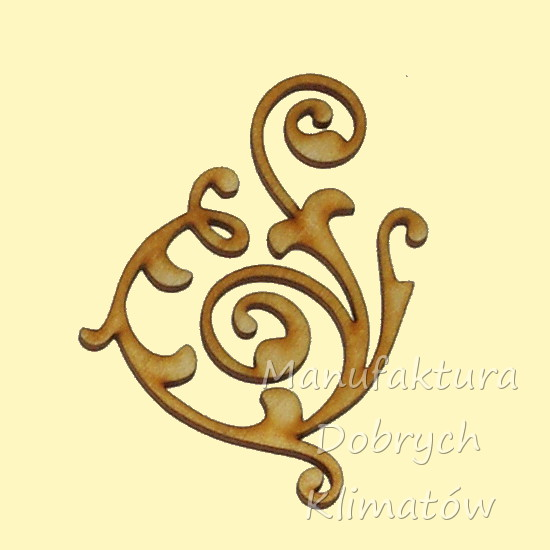 MDK0237 Ornament 100x74mm